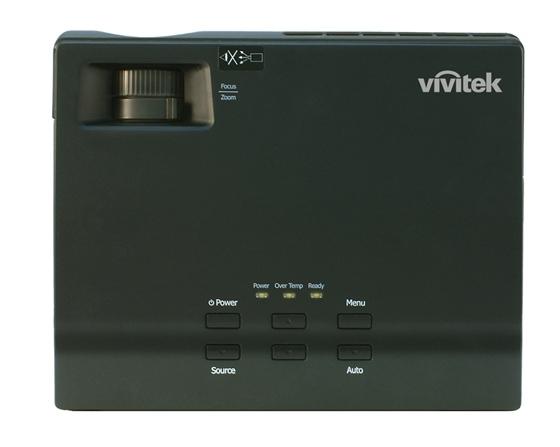 Vivitek D330WX Top LOWRes