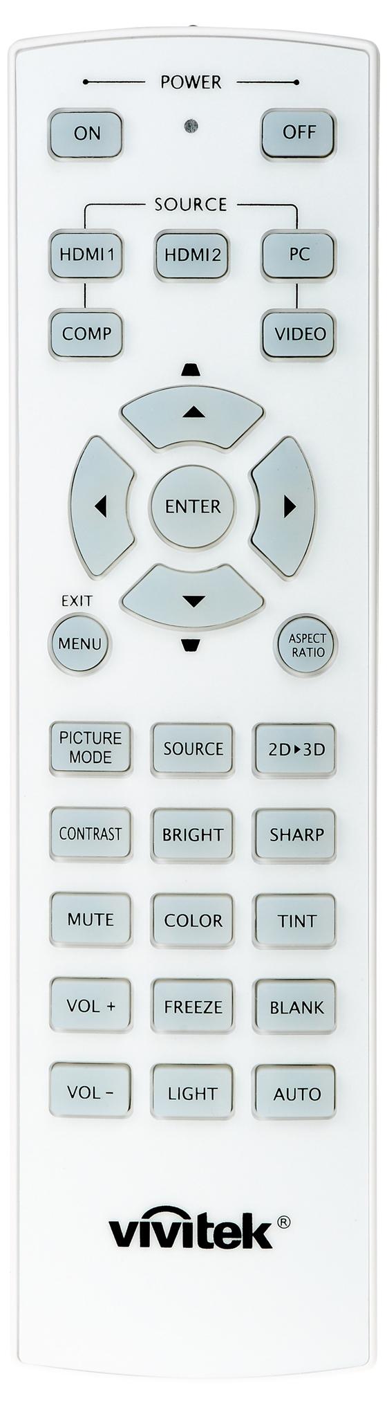 01112 Vivitek remote 002