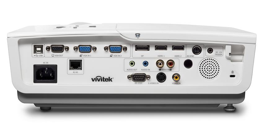 Vivitek DH976 DX977 DU978 IO Back