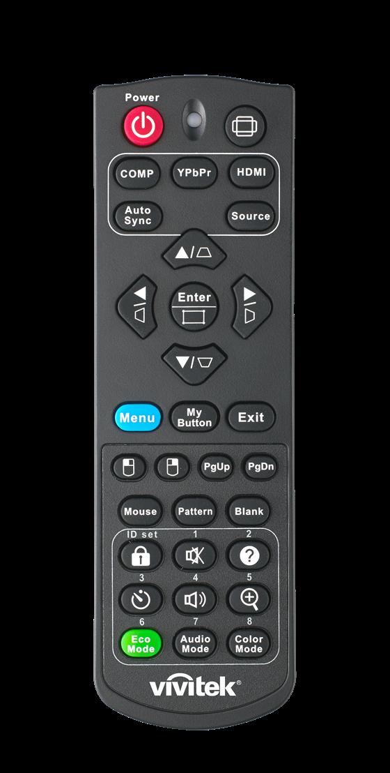 Vivitek  DW763Z UST DH765Z UST Remote Control