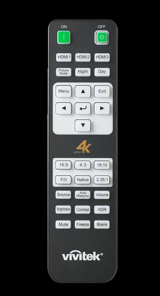 Vivitek HK2288 Remote Control