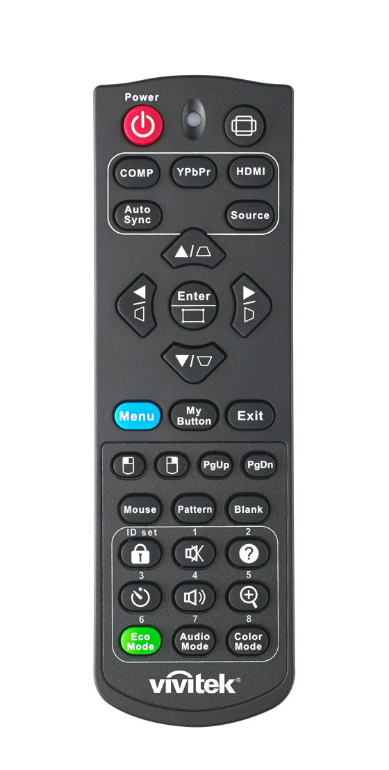 Vivitek  DW763Z UST DH765Z UST  DH768Z UST Remote Control