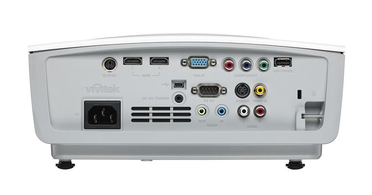 Vivitek H1180HD IO Ports HiRes