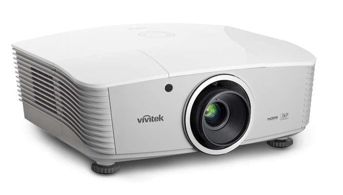 Vivitek D5010 White LeftHero HiRes