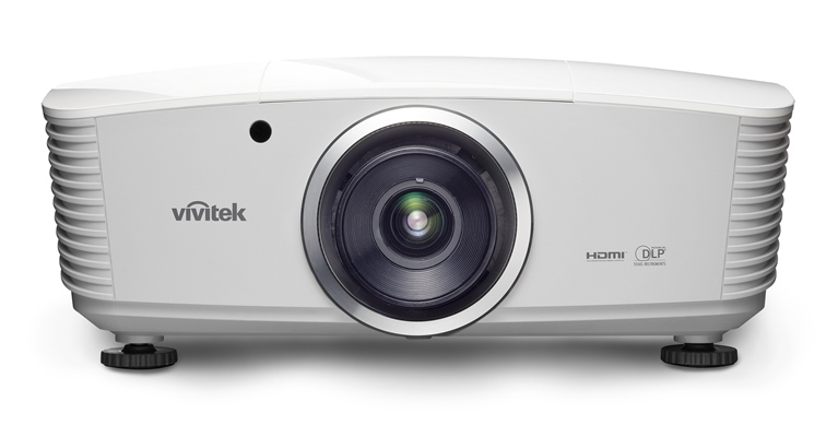 Vivitek  D5110W  White Front HiRes