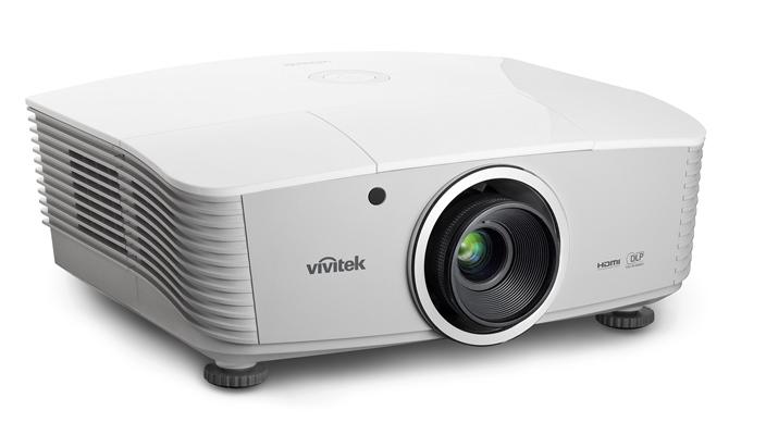 Vivitek D5380U  White LeftHero HiRes